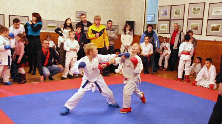 Открытое первенство по каратэ среди детей младшего возраста