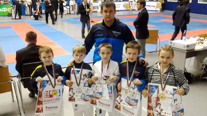 Первый турнир 2014 – победное шествие в Кемерово!
