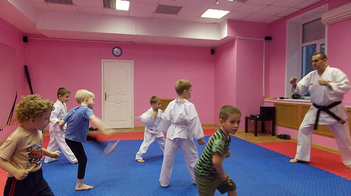 Каратэ-до Сито-рю - детские группы Новосибирск