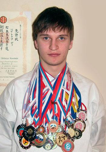 Дмитрий Бекетов, КМС, 2 дан