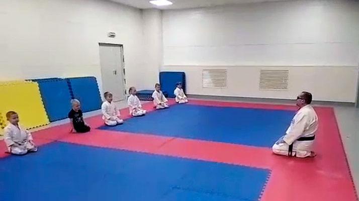 Тренировка в спорткомплексе Армада