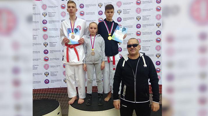 Всероссийские соревнования по восточным боевым единоборствам прошли в городе Лобня