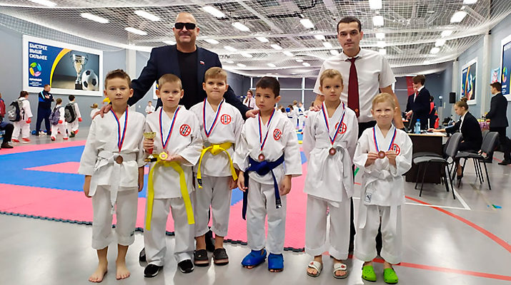 В Краснообске прошел турнир по каратэ-до сито-рю